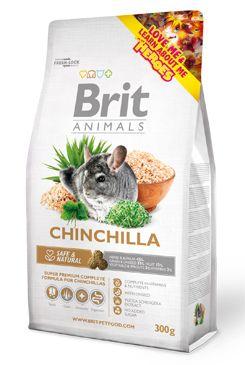 Brit Animals Chinchila Complete bal.300g/1,5kg  - zvìtšit obrázek