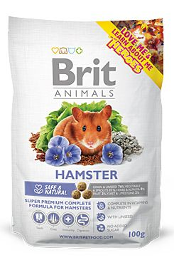 Brit Animals Hamster Complete bal.100g/300g - zvìtšit obrázek