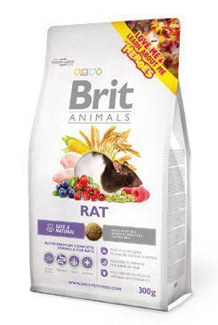 Brit Animals Rat bal.300g/1,5kg - zvìtšit obrázek
