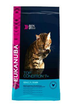Eukanuba Cat Senior 7+ Top Condition Chicken bal.400g/4kg - zvìtšit obrázek