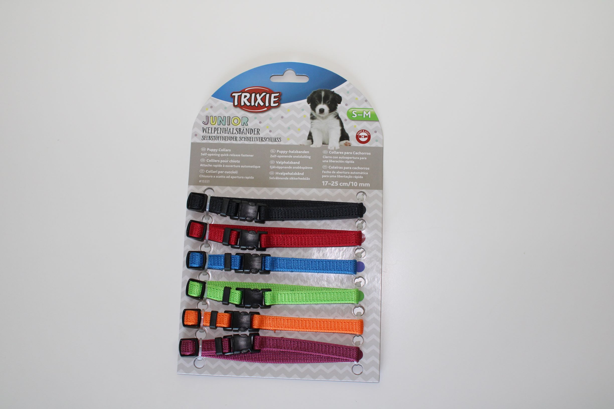 Rozeznávací obojky pro štìòata 17-25cm/10mm 6 barev - zvìtšit obrázek