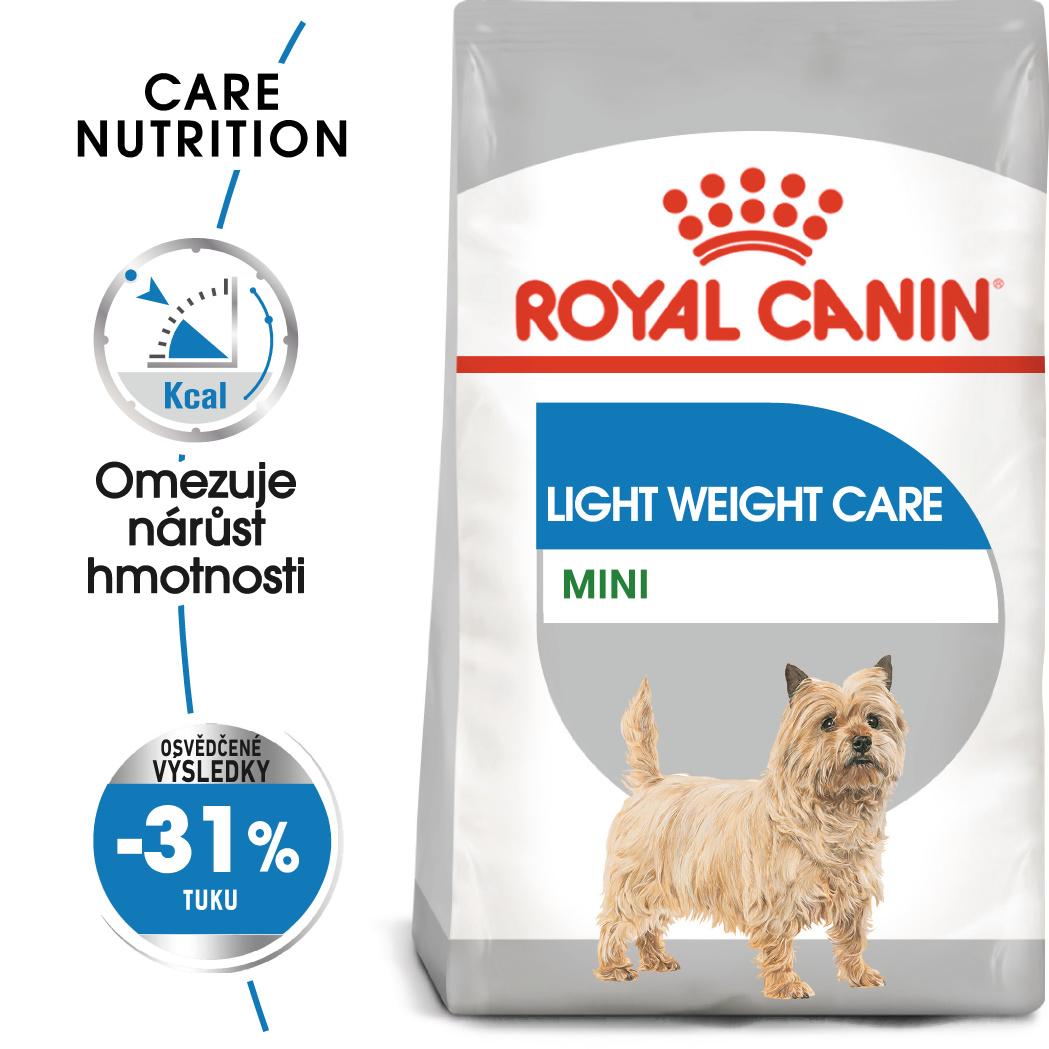 Royal Canin Mini Light Weight Care bal.1/3/8kg - zvìtšit obrázek