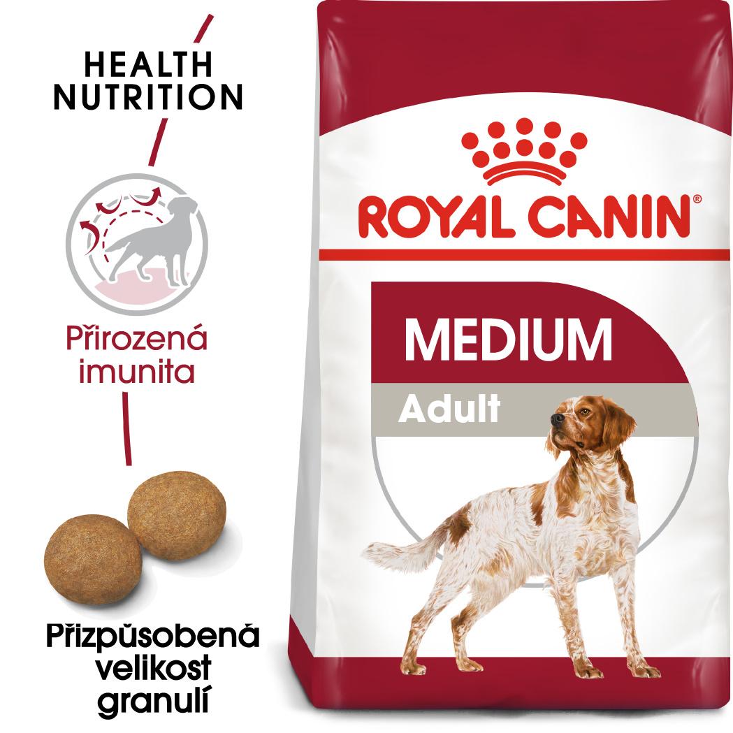 Royal Canin Medium Adult bal.4kg/15kg - zvìtšit obrázek