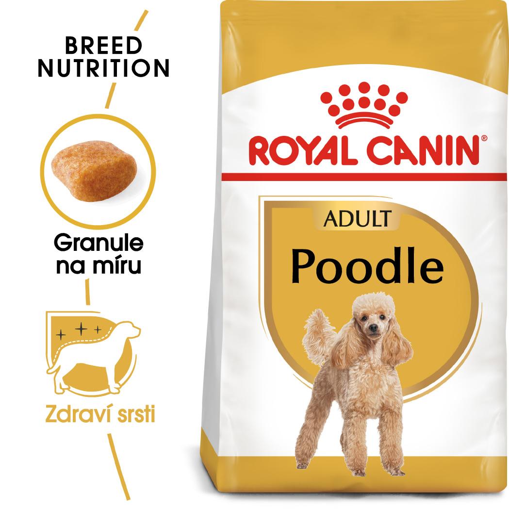 Royal Canin Poodle Adult bal.500g/1,5kg/7,5kg - zvìtšit obrázek