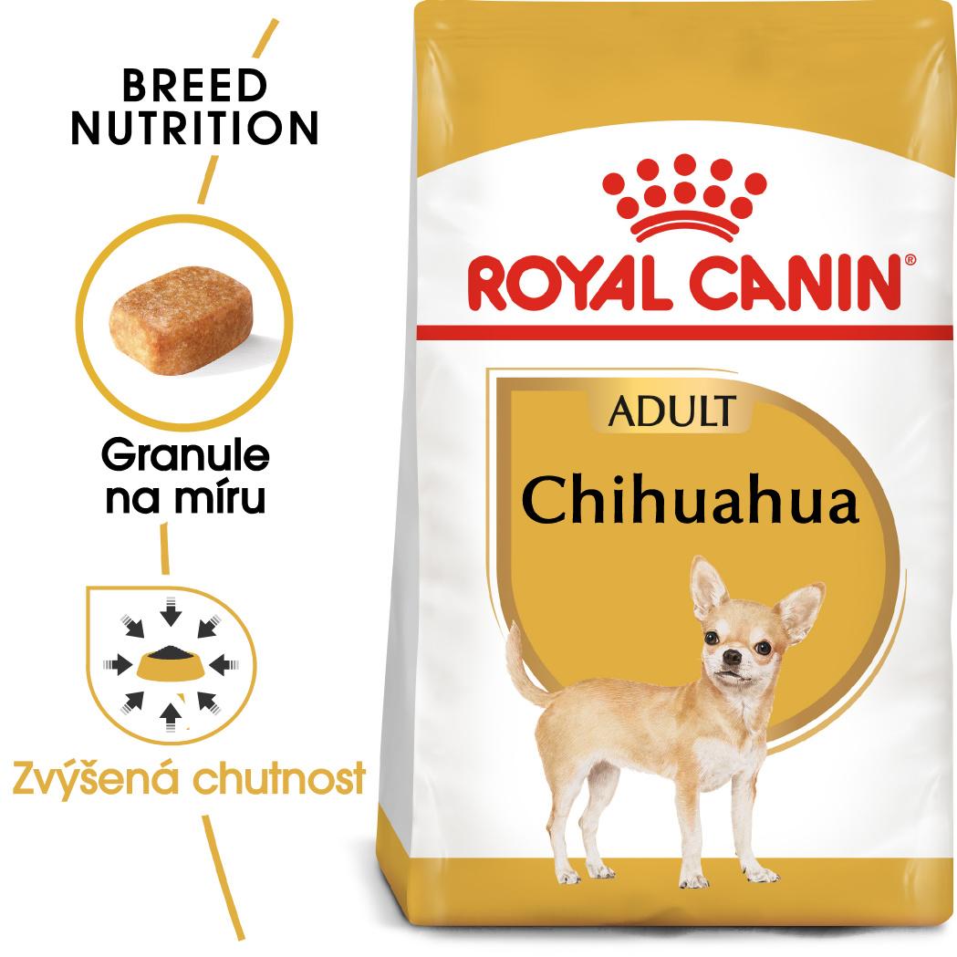 Royal Canin Chihuahua Adult bal.500G/1,5kg/3kg - zvìtšit obrázek