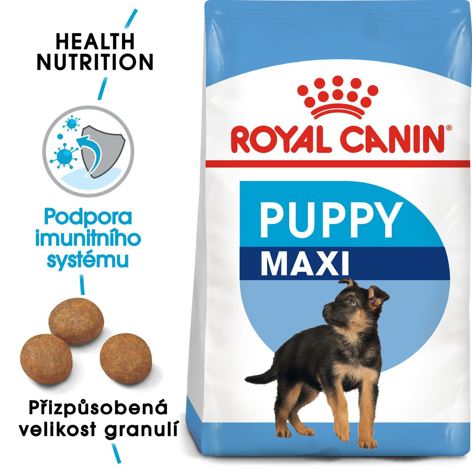 Royal Canin MAXI PUPPY bal,4kg/15kg - zvìtšit obrázek