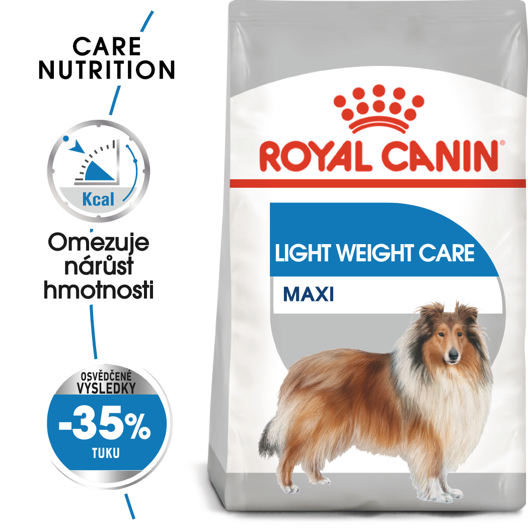 Royal Canin Maxi Light Weight Care bal.3kg/10kg - zvìtšit obrázek