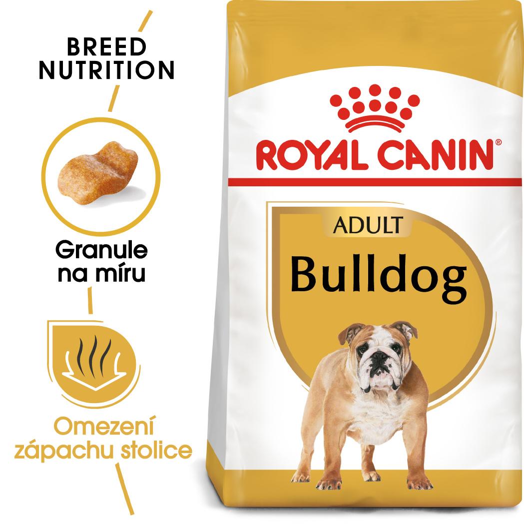 Royal Canin Bulldog Adult 3kg - zvìtšit obrázek