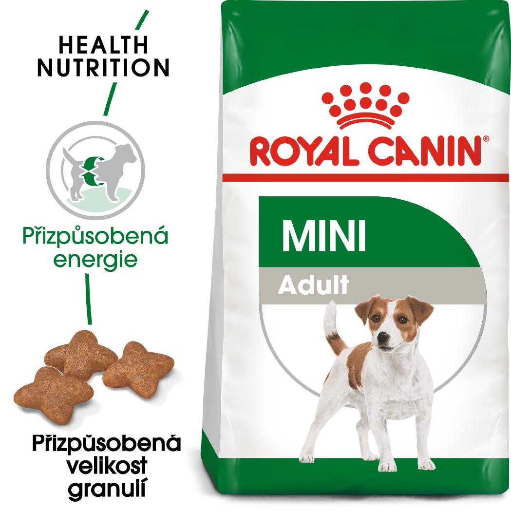 Royal Canin Mini Adult bal.800g/2kg/8kg - zvìtšit obrázek