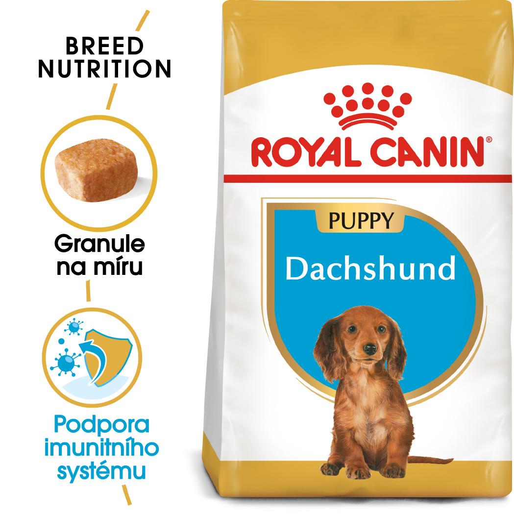Royal Canin Dachshund Puppy 1,5kg - zvìtšit obrázek