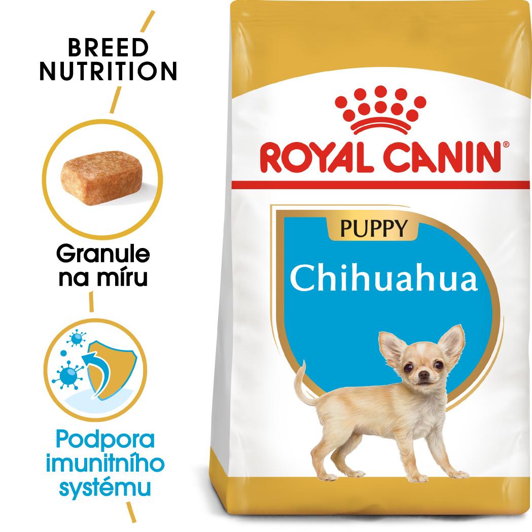 Royal Canin Chihuahua Puppy bal.500g/1,5kg - zvìtšit obrázek