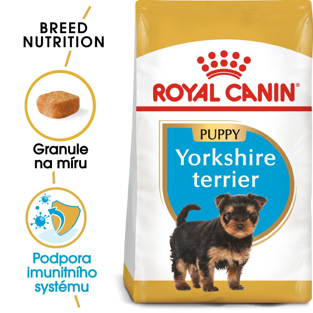 Royal Canin Yorkshire Puppy bal.500g/1,5kg/7,5kg - zvìtšit obrázek