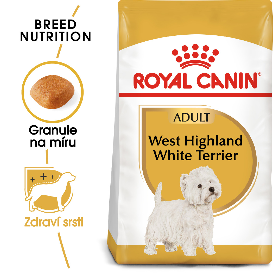 Royal Canin Westie Adultbal bal.500g/1,5kg/3kg - zvìtšit obrázek
