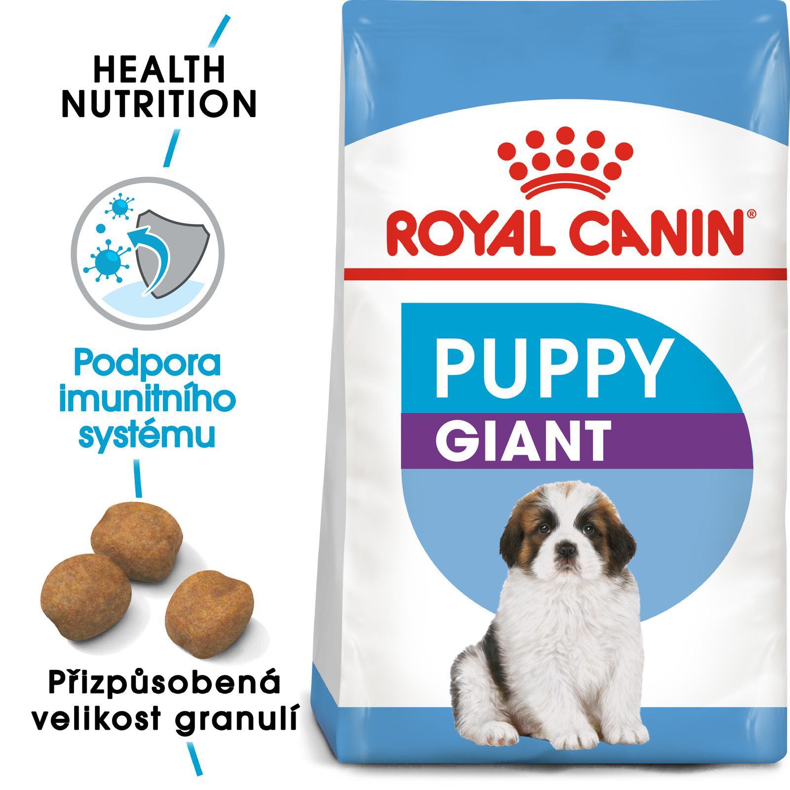 Royal Canin GIANT PUPPY bal.15kg - zvìtšit obrázek