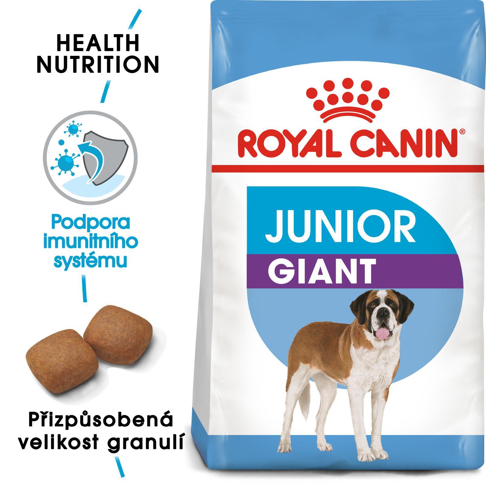 Royal Canin GIANT JUNIOR 15kg - zvìtšit obrázek