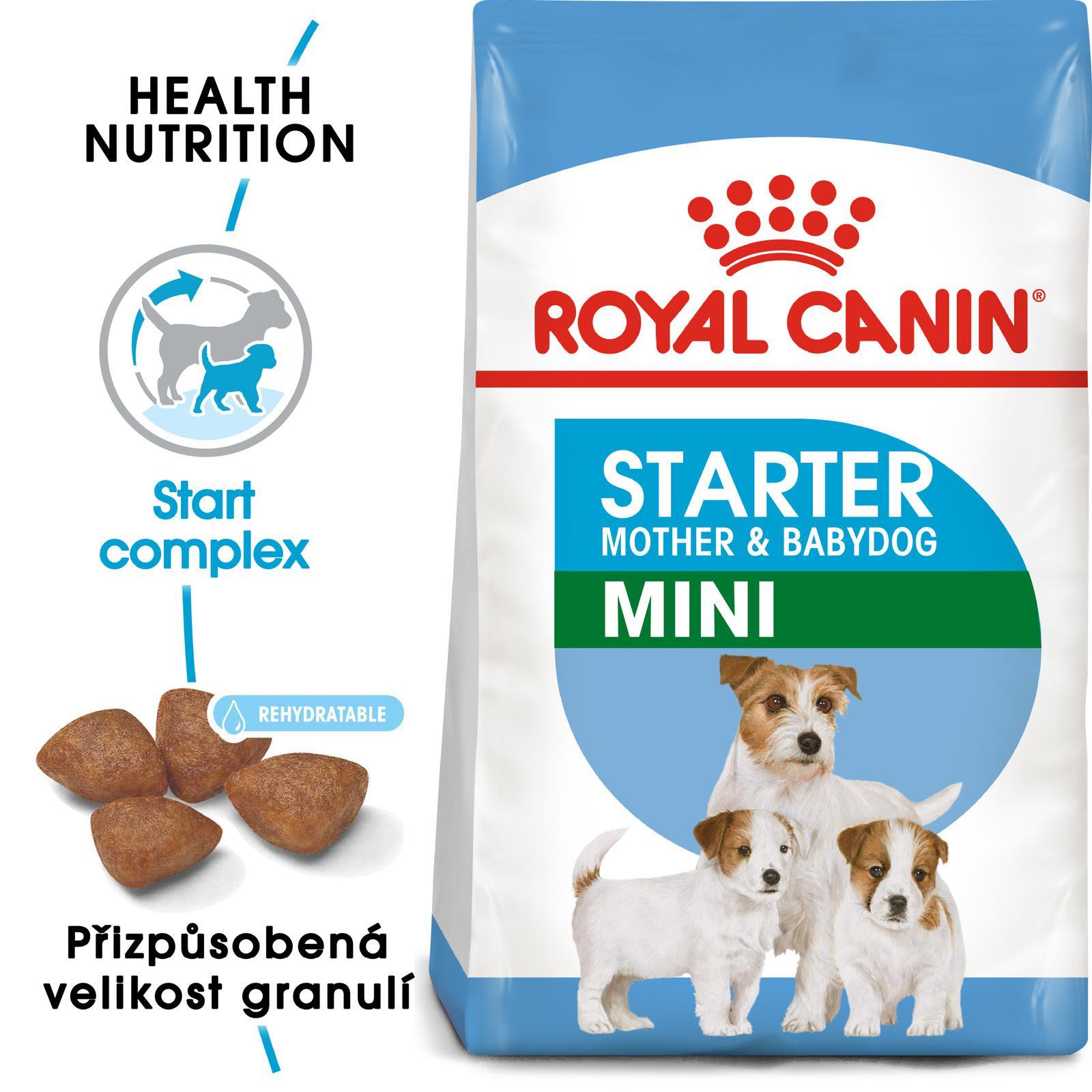 Royal Canin Mini Starter bal.1kg/3kg/8,5kg - zvìtšit obrázek