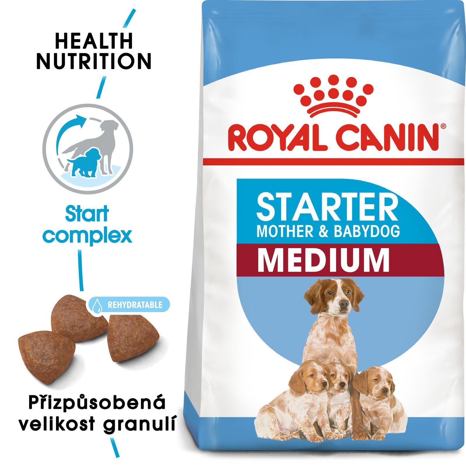 Royal Canin MEDIUM STARTER bal.4kg/12kg - zvìtšit obrázek