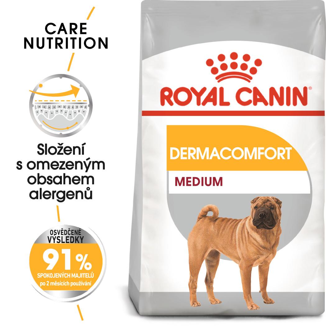 Royal Canin Medium Dermacomfort bal.10kg - zvìtšit obrázek