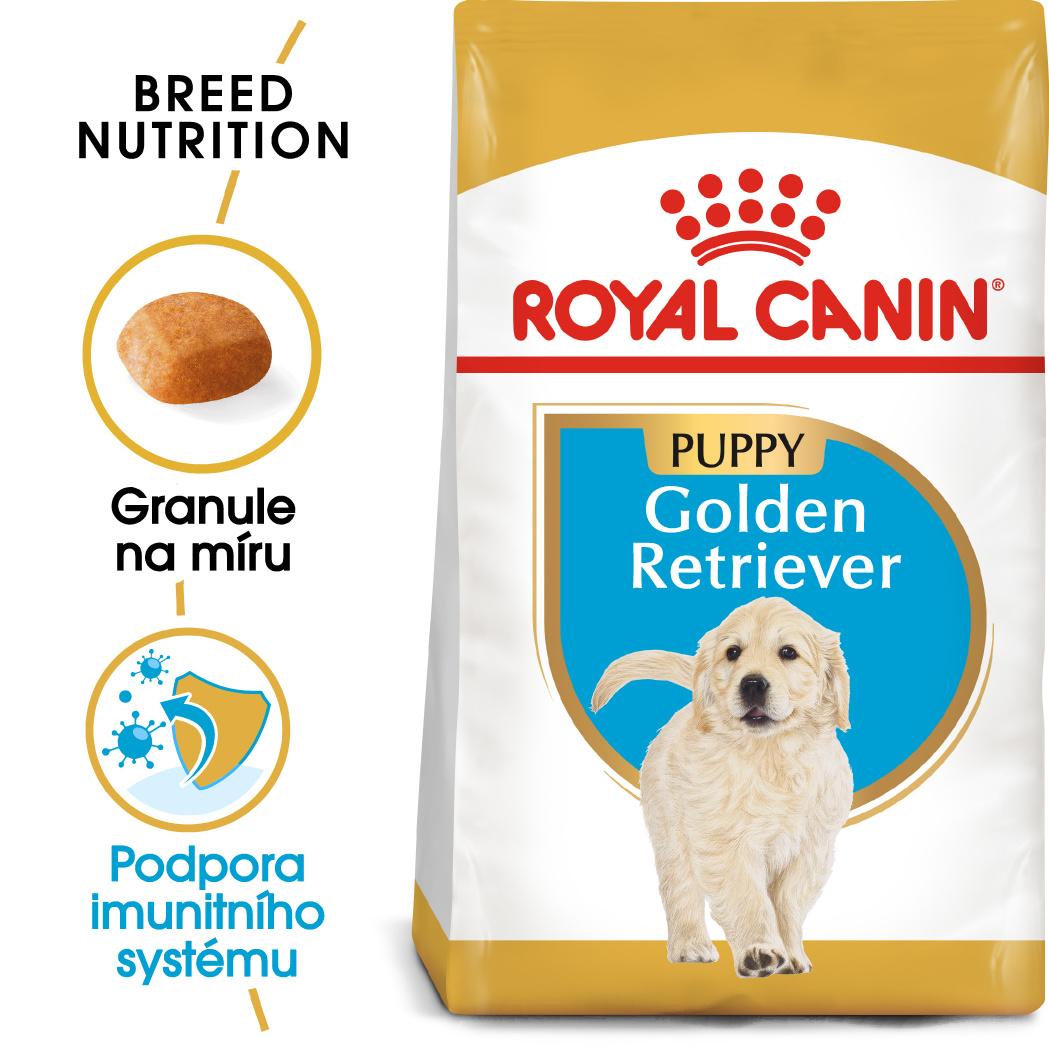 Royal Canin Golden Retriever Puppybal.12kg - zvìtšit obrázek