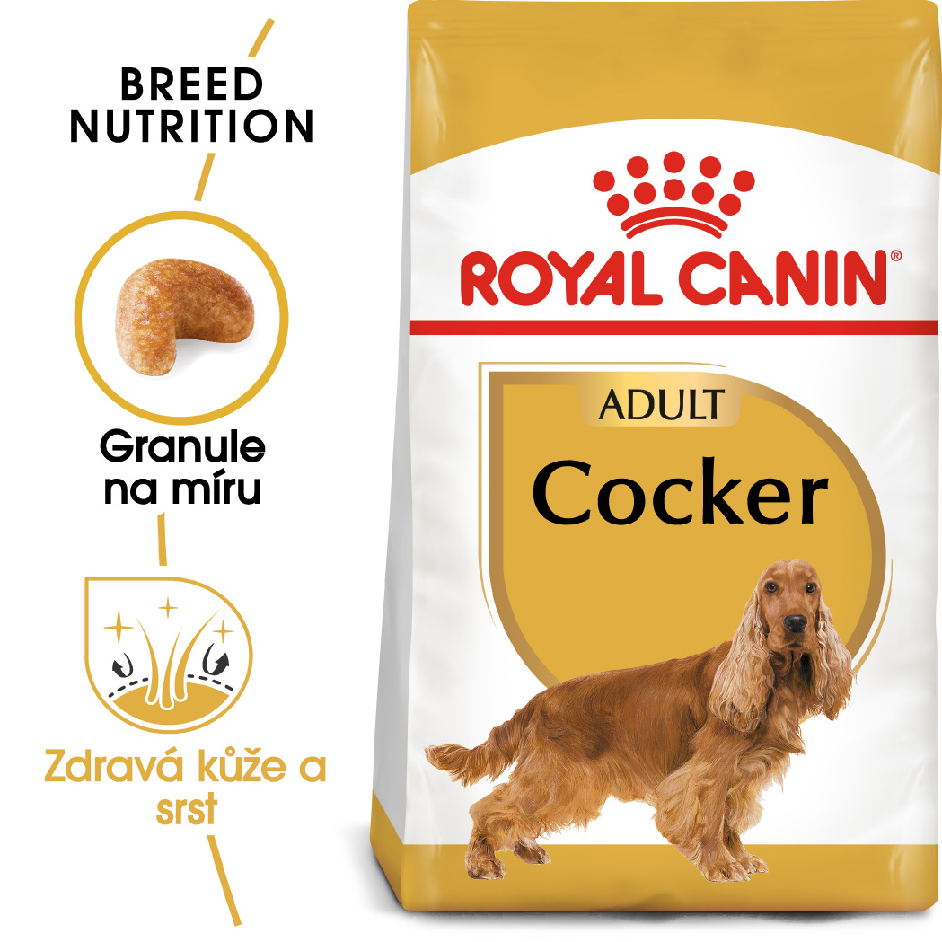Royal Canin Cocker Adultbal.3kg - zvìtšit obrázek