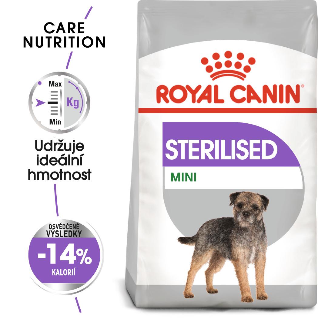 Royal Canin Mini Sterilised bal.1kg/3kg/8kg - zvìtšit obrázek