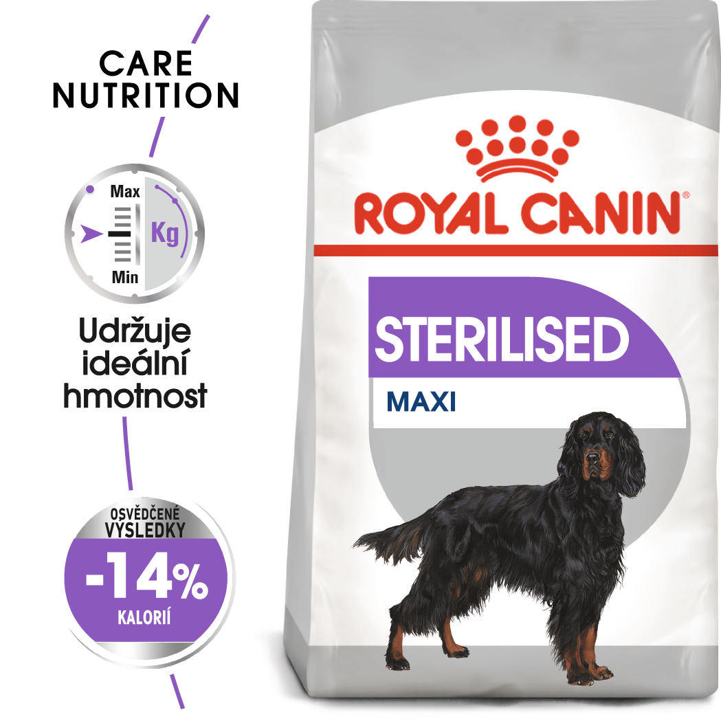 Royal Canin Maxi Sterilised bal.3kg/9kg - zvìtšit obrázek