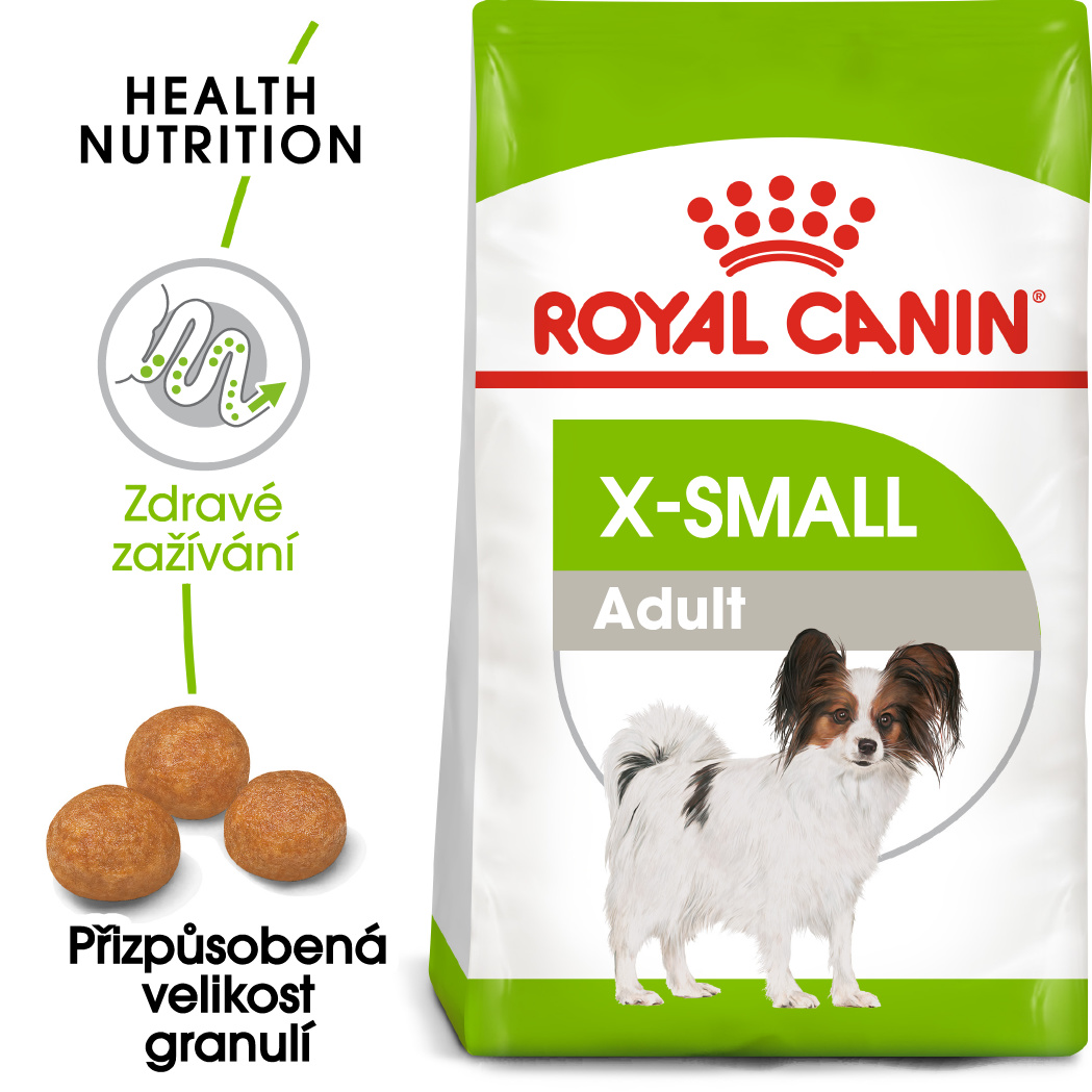 Royal Canin X-Small Adult bal.500g/1,5kg/3kg - zvìtšit obrázek