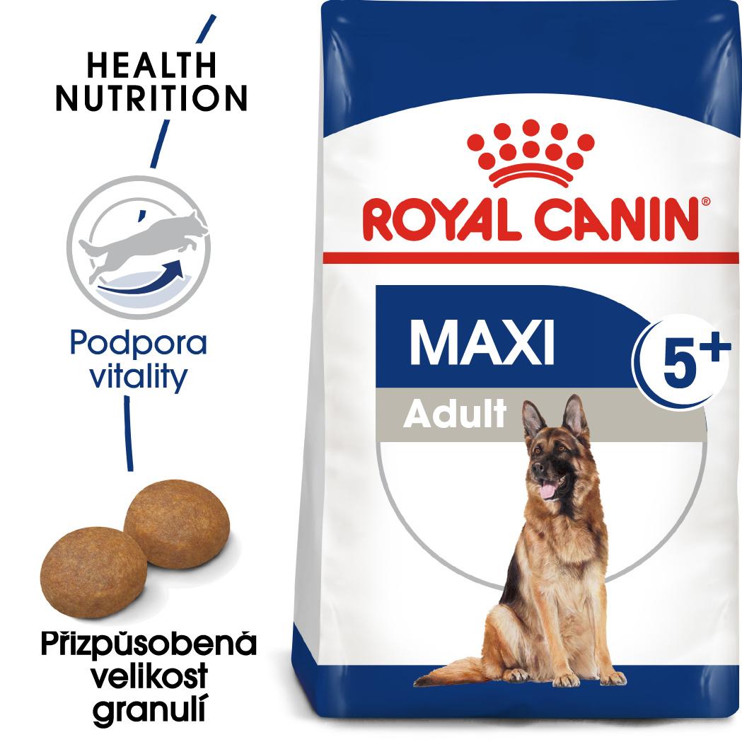 Royal Canin Maxi Adult 5+ bal.15kg - zvìtšit obrázek