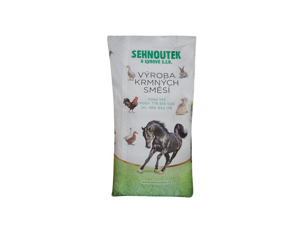 Pštros výkrm 2 granule 25kg krmná smìs - zvìtšit obrázek