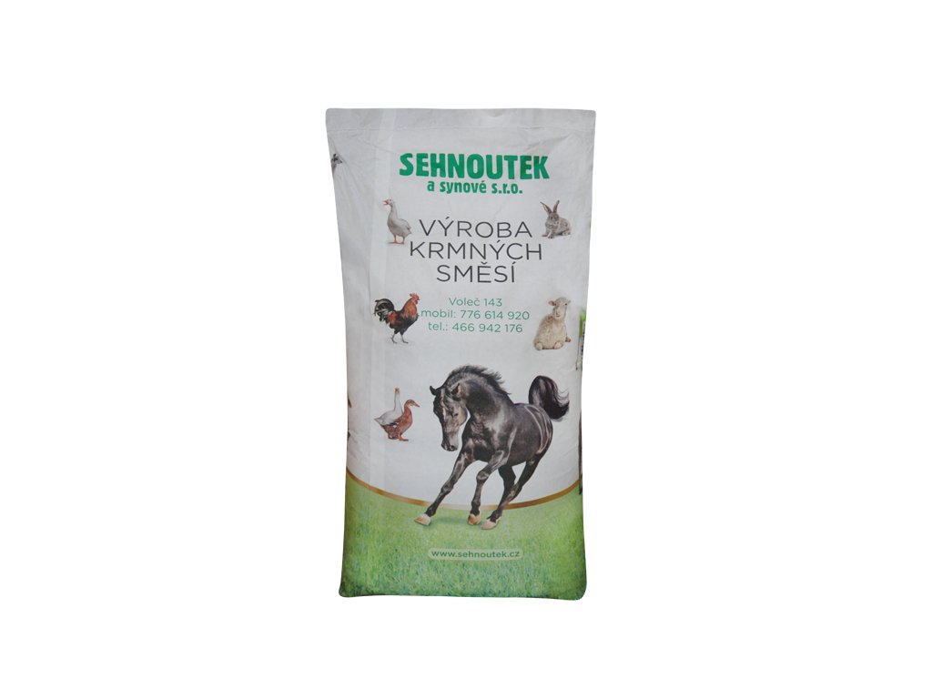 Potkan Granule 11mm pøírodní antikokcidium 25kg krmná smìs - zvìtšit obrázek
