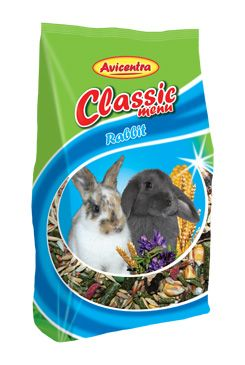 Avicentra Classic menu králík 1kg - zvìtšit obrázek
