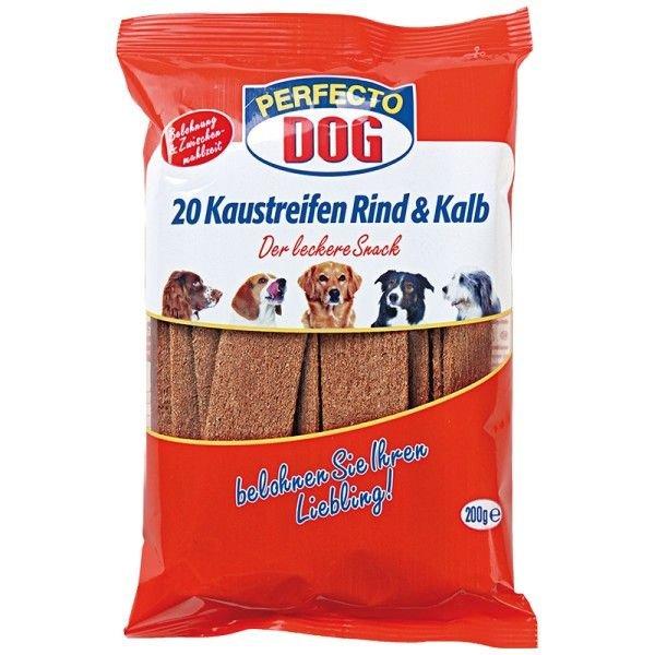 Perfecto Dog Masové plátky hovìzí + telecí (10ks/200g) - zvìtšit obrázek