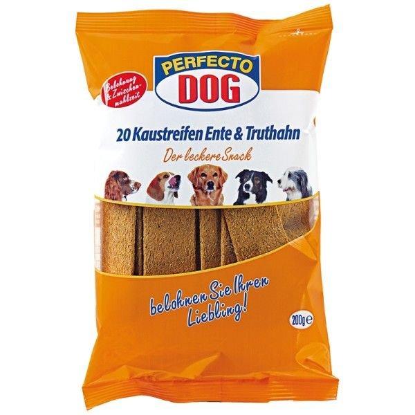 Perfecto Dog Masové plátky krùta + kachna (10ks/200g) - zvìtšit obrázek