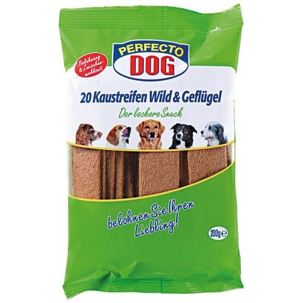 Perfecto Dog Masové plátky zvìøina + drùbeží (10ks/200g) - zvìtšit obrázek