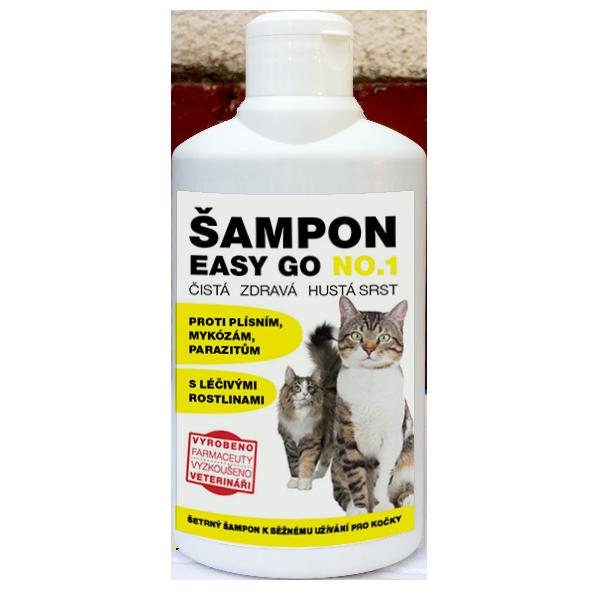 ŠAMPON EASY GO NO.1 250ml koèka - zvìtšit obrázek