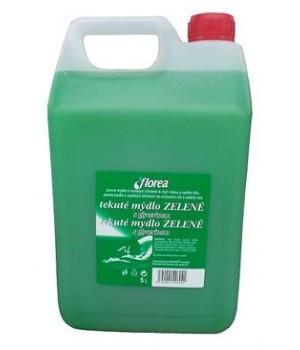Mýdlo tekuté Florea zelené 5l - zvìtšit obrázek