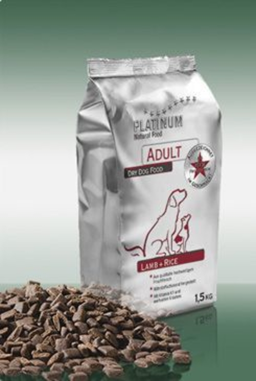 Platinum Adult Lamb+Rice 1,5kg - zvìtšit obrázek