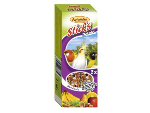 Avicentra tyèinky malý papoušek - ovoce+oøech 2ks  - zvìtšit obrázek