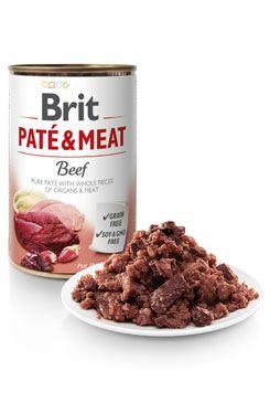 Brit Dog konz Paté & Meat Beef 800g 6ks - zvìtšit obrázek