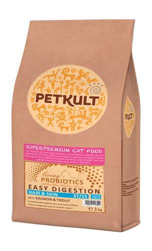 PETKULT cat PROBIOTICS HAIR/skin 7 kg - zvìtšit obrázek