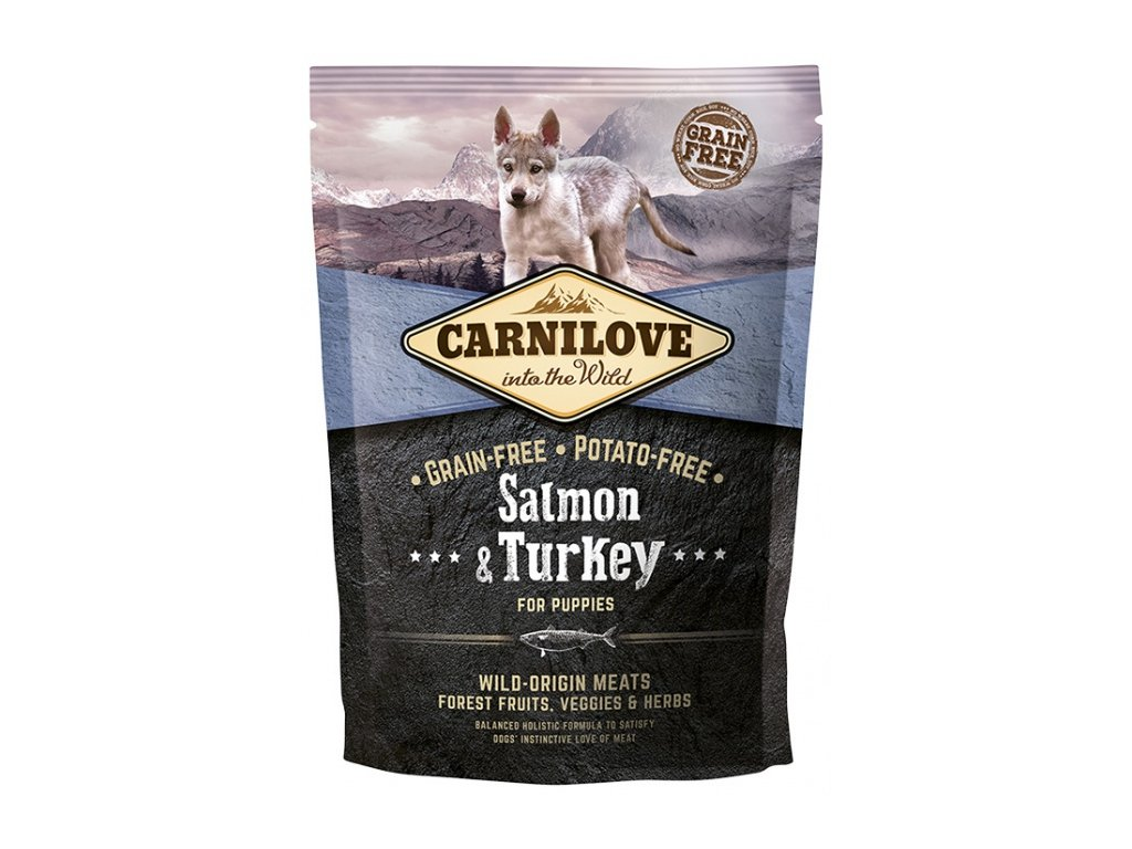 Carnilove Salmon & Turkey for puppies 1,5kg - zvìtšit obrázek