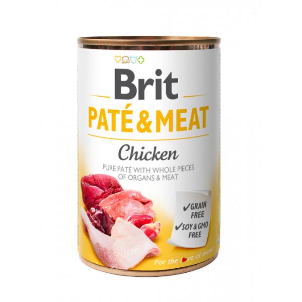 Brit Paté & Meat Chicken 800g 5+1 ZDARMA - zvìtšit obrázek