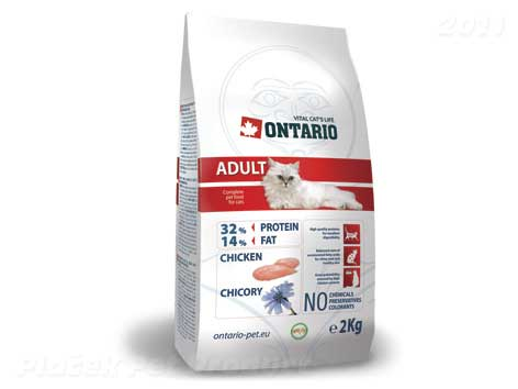 ONTARIO cat ADULT chicken 10 kg - zvìtšit obrázek