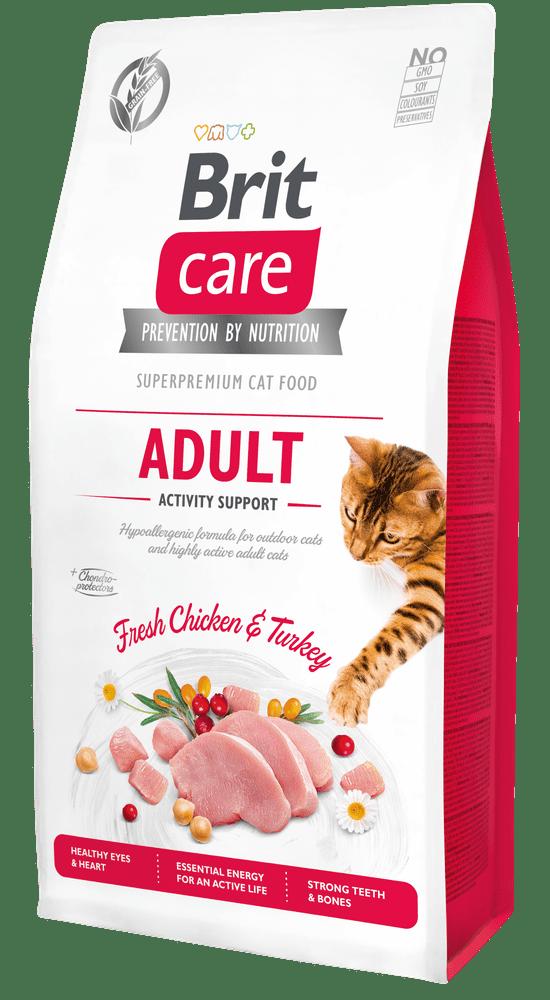 Brit Care Cat Grain-Free Adult Activity Support 7kg - zvìtšit obrázek