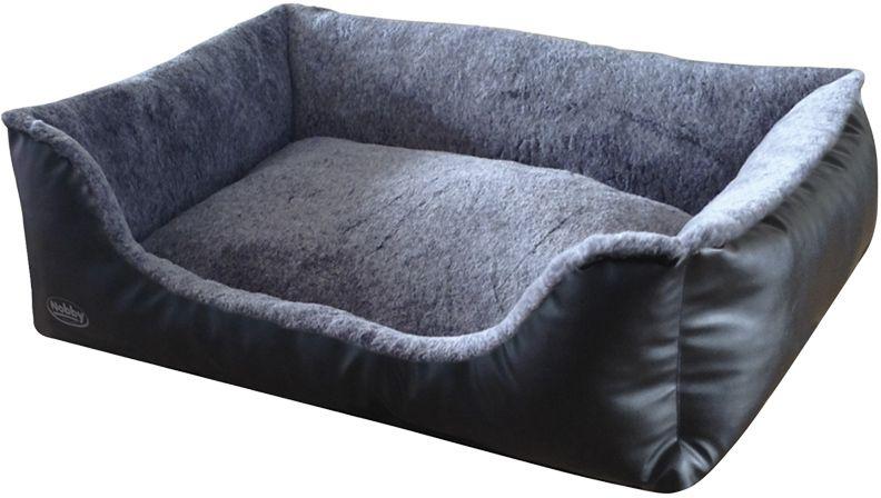 Nobby Cali pelíšek imitace kùže èerná 60x40x19cm - zvìtšit obrázek